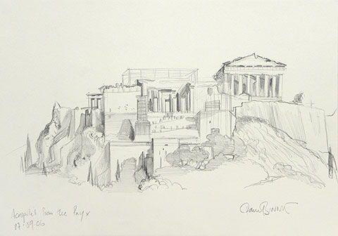"Paul Binnie ""Acropolis from the Pnyx"" main image"