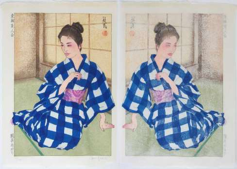"Paul Binnie ""After the Bath"" Front and reverse thumbnail"