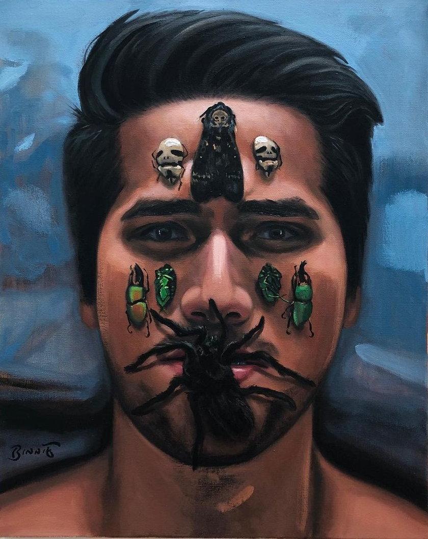 """Paul Binnie """"Angel & La Muerte"""" main image"""
