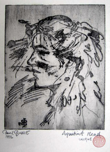 "Paul Binnie ""Aquatint Head"" main image"