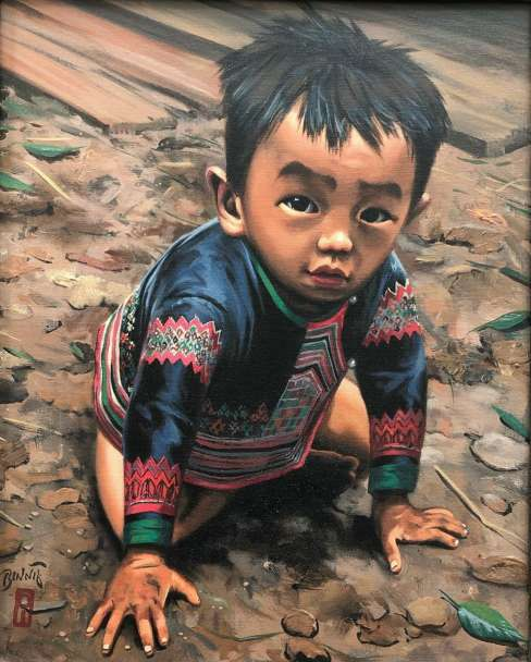 "Paul Binnie ""A Boy of the Hmong Tribe"" 2001 thumbnail"
