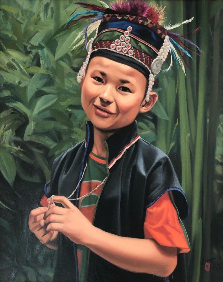 """Paul Binnie """"[A boy]"""" artwork"""