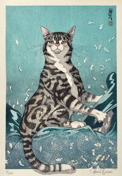 """Paul Binnie """"Cat Feathers: Dark Magic"""" main image"""