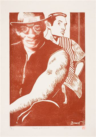 "Paul Binnie ""Charles and Richard"" 1994 main image"