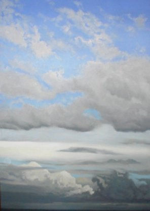 "Paul Binnie ""Clouds #65"" artwork"