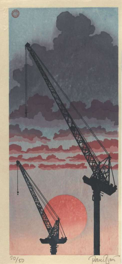 "Paul Binnie ""Cranes"" 2016 thumbnail"