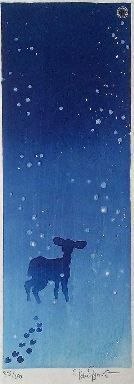 """Paul Binnie """"Deer in the Snow"""" main image"""