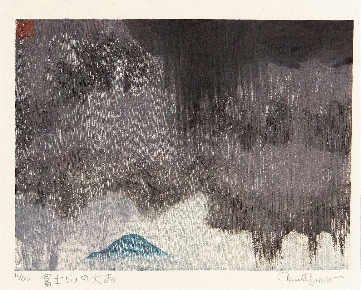 "Paul Binnie ""Downpour over Mount Fuji"" main image"