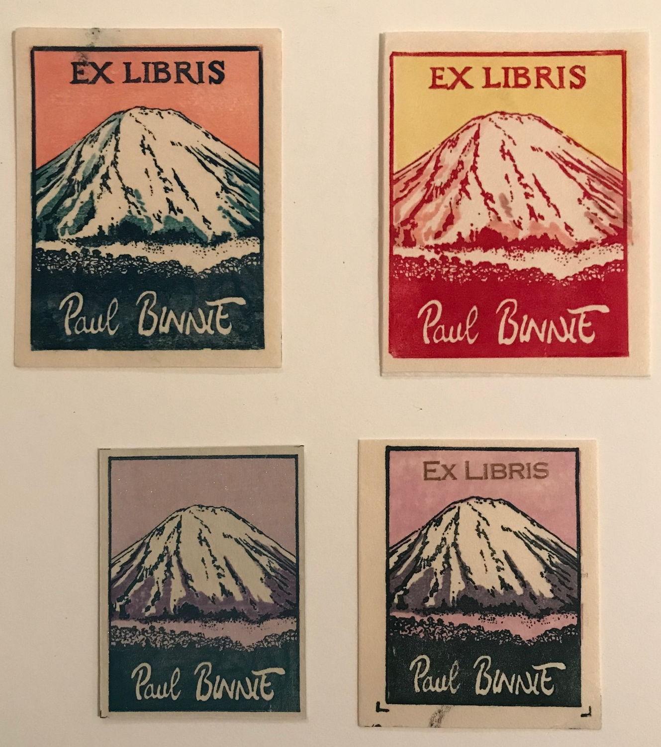 "Paul Binnie ""[Ex Libris 3]"" artwork"