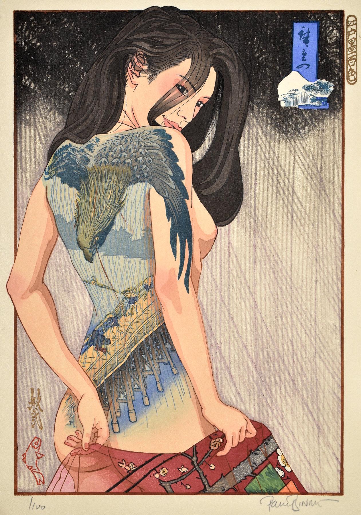 """Paul Binnie """"Hiroshige's Edo"""" main image"""