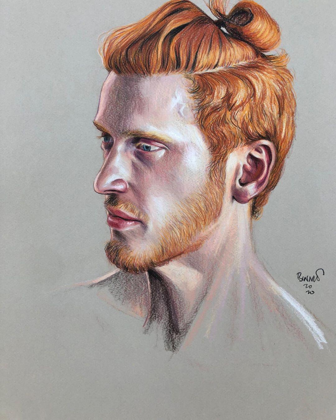 "Paul Binnie ""Ian"" artwork"