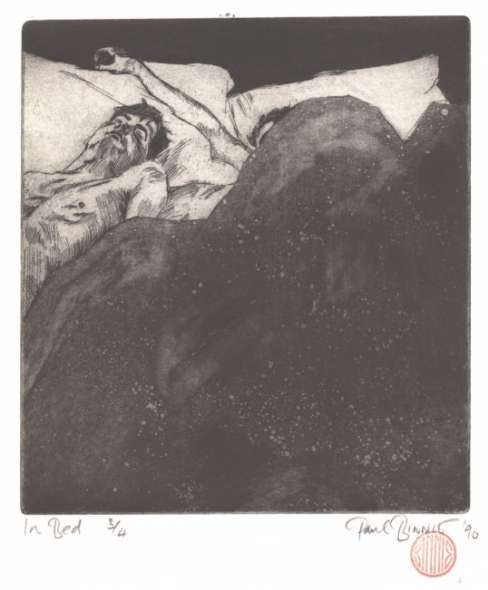 "Paul Binnie ""In Bed"" 1990 thumbnail"