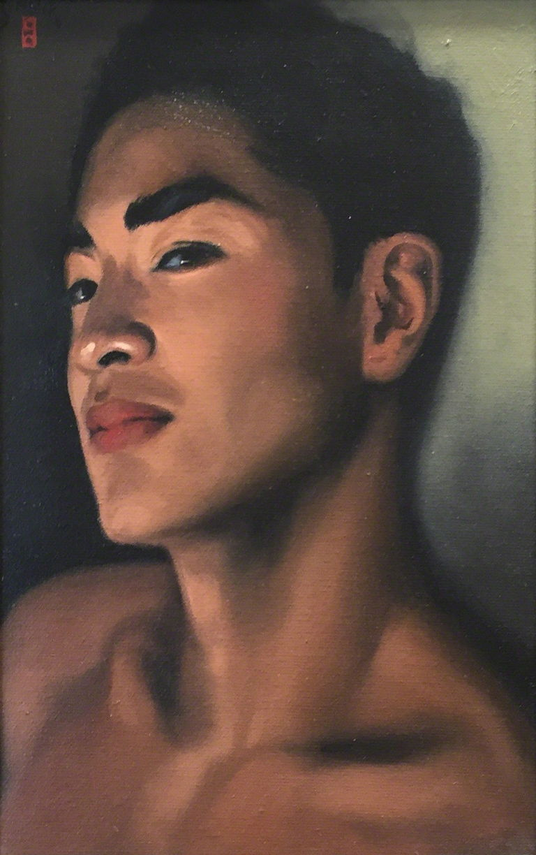 "Paul Binnie ""The Japanese Actor, Kawasetsu Yu"" 2002 main image"