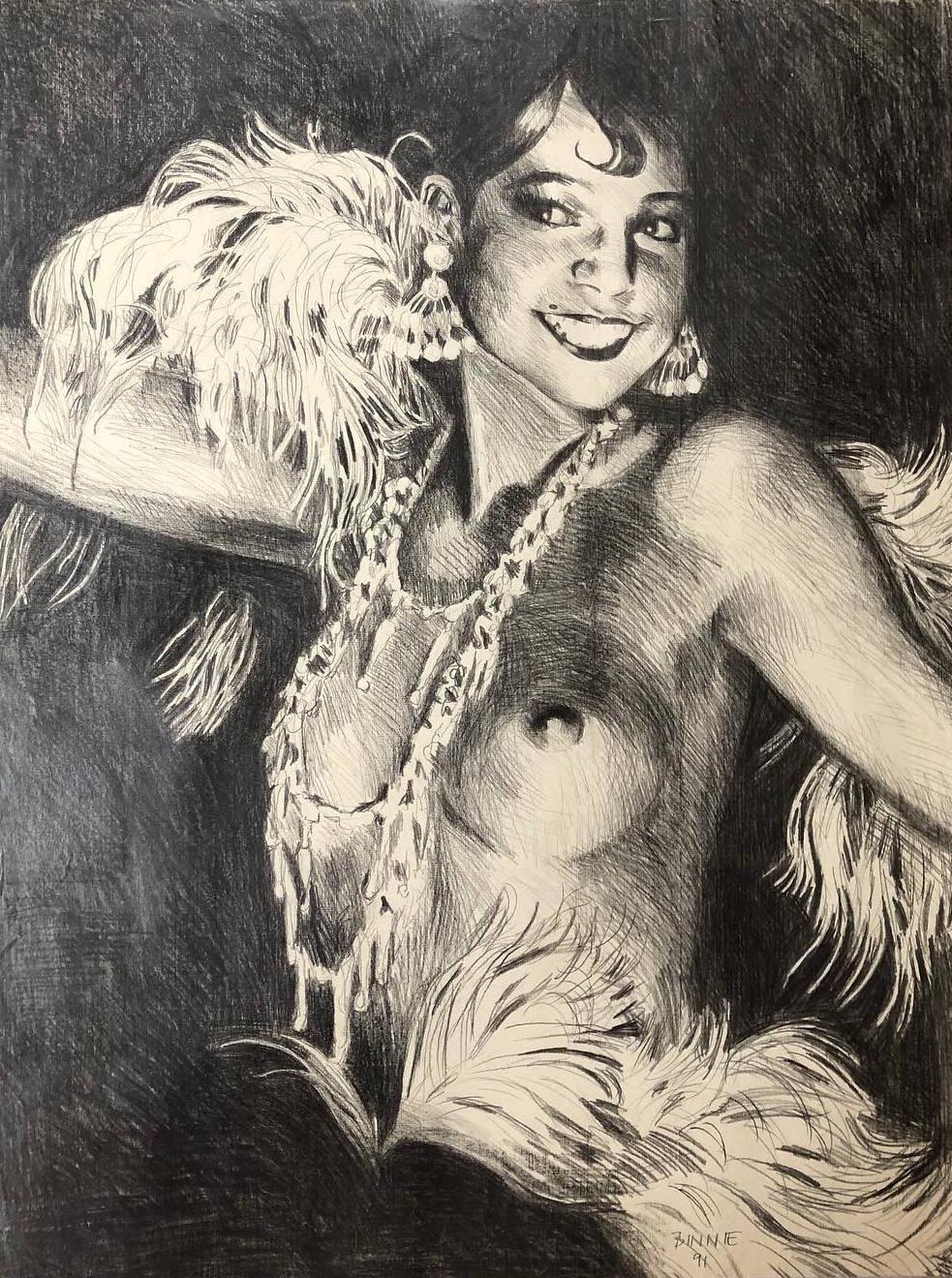 """Paul Binnie """"Josephine Baker"""" main image"""