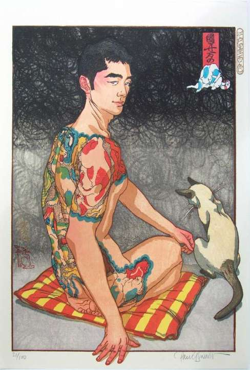 "Paul Binnie ""Kuniyoshi's Cats"" 2004 thumbnail"