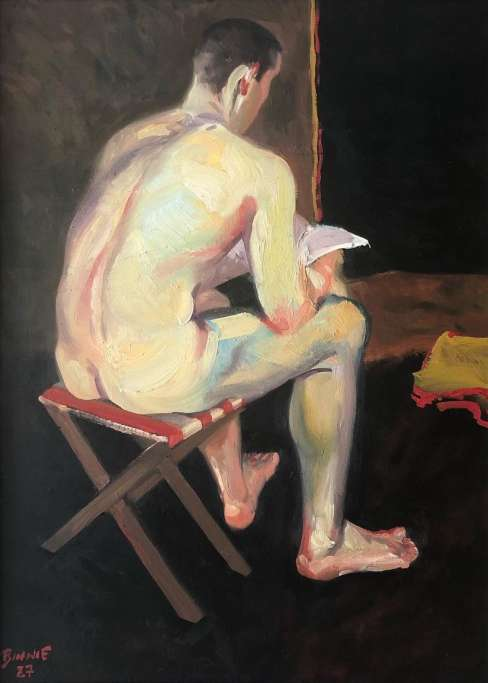 "Paul Binnie ""Life Mode Reading"" 1987 thumbnail"