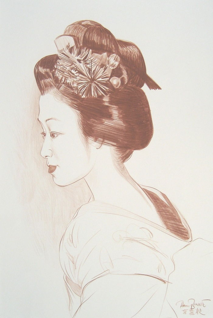 "Paul Binnie ""Maiko, Kyoto I"" main image"