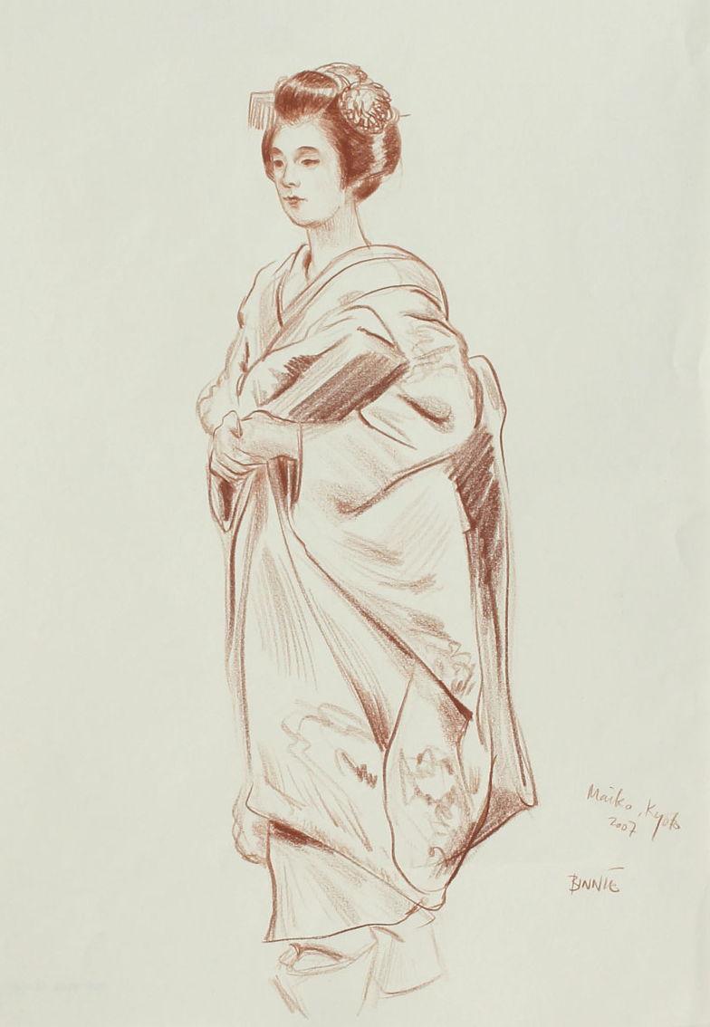 """Paul Binnie """"Maiko, Kyoto II"""" main image"""