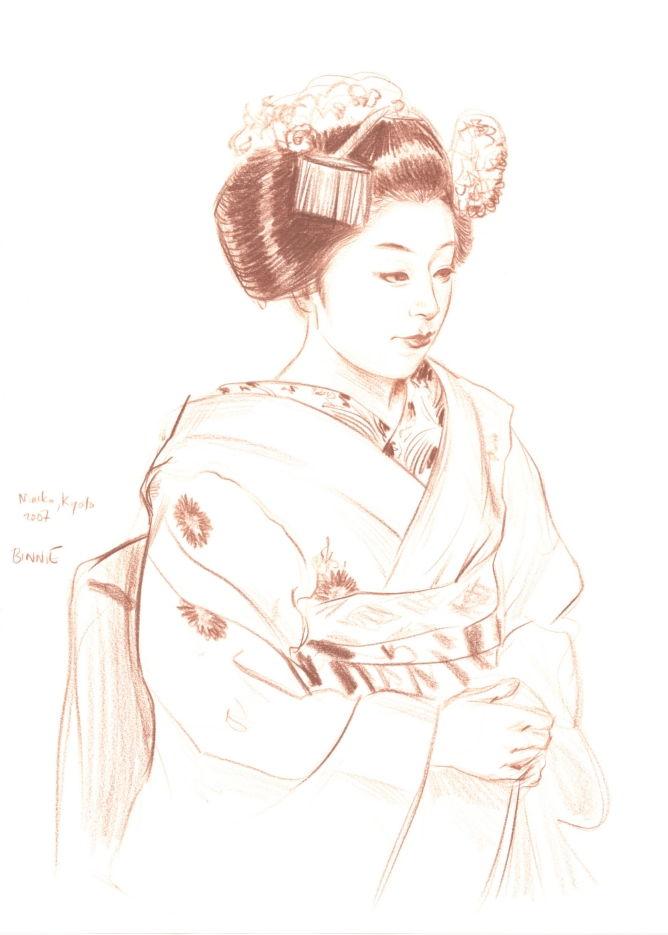 """Paul Binnie """"Maiko, Kyoto III"""" main image"""