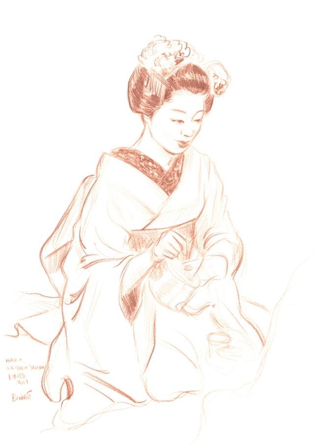 "Paul Binnie ""Maiko Okyaku-sama, Kyoto"" main image"