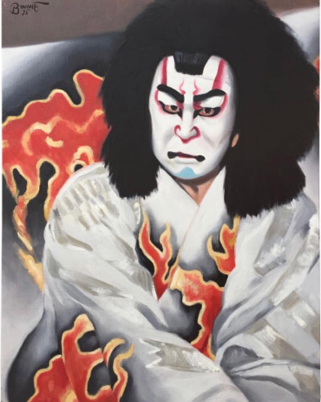 "Paul Binnie ""Matsumoto Kōshirō in Narukami"" main image"