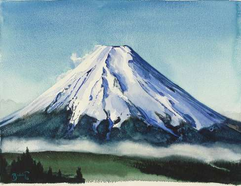 "Paul Binnie ""Morning, Mount Fuji"" 2003 thumbnail"