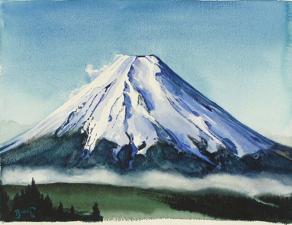 "Paul Binnie ""Morning, Mount Fuji"" main image"