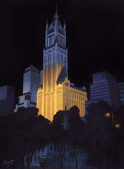 "Paul Binnie ""New York Night"" 2010 thumbnail"