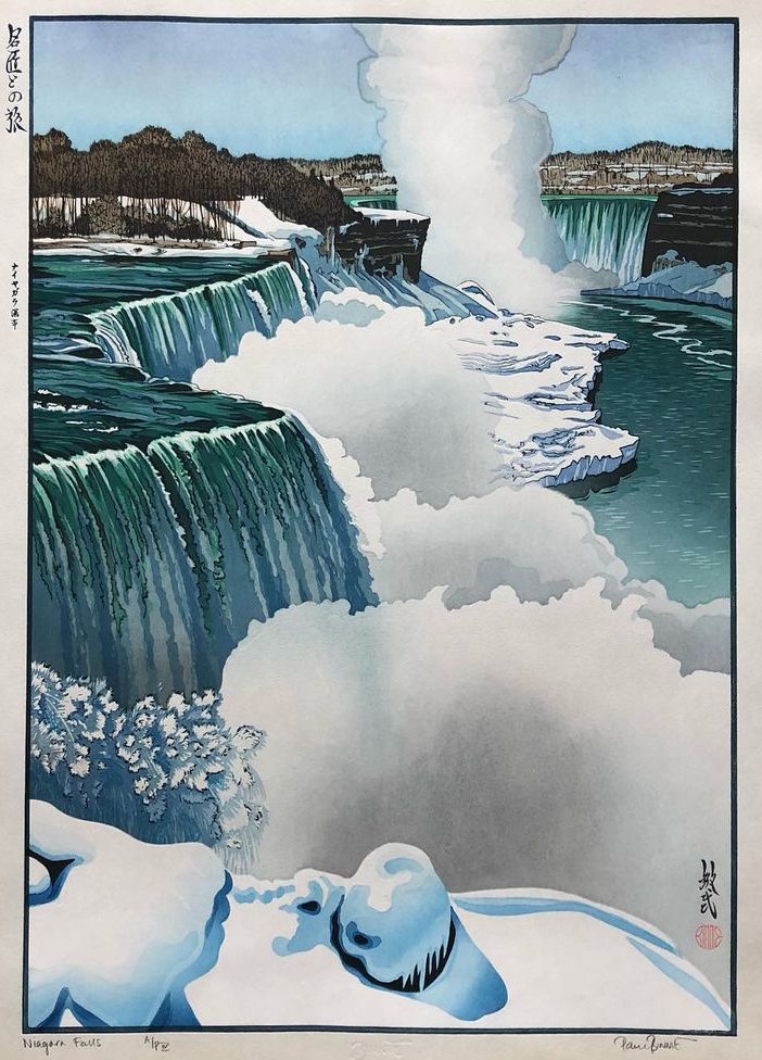 "Paul Binnie ""Niagara Falls"" main image"
