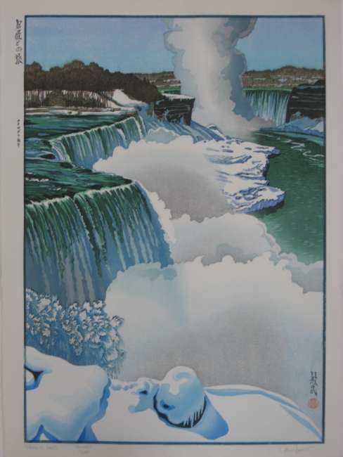 "Paul Binnie ""Niagara Falls"" Printer's proof thumbnail"
