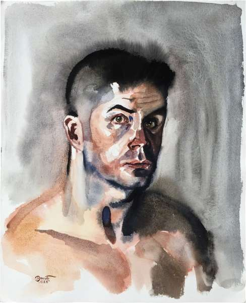 "Paul Binnie ""Nude Self-Portrait"" 1995 thumbnail"