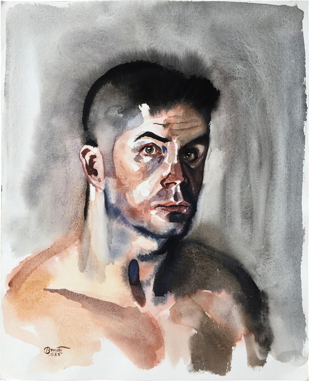 "Paul Binnie ""Nude Self-Portrait"" 1995 main image"