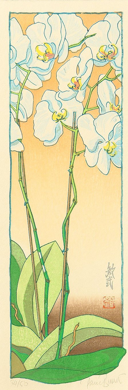 "Paul Binnie ""Orchids - Morning"" main image"
