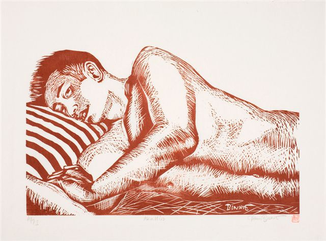 """Paul Binnie """"Red Hiro"""" 1994 main image"""