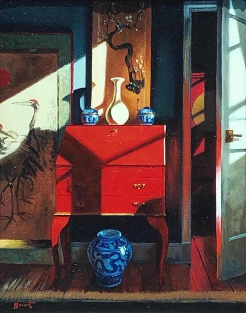 """Paul Binnie """"Red Lacquer Bureau"""" main image"""