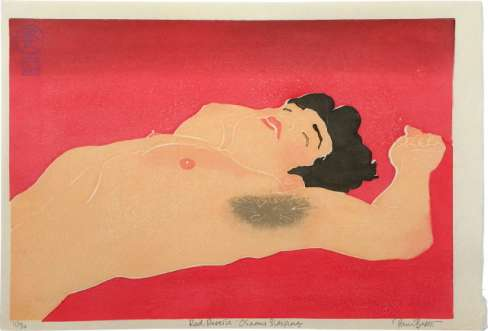 "Paul Binnie ""Red Reverse: Osamu Sleeping"" 2009 thumbnail"