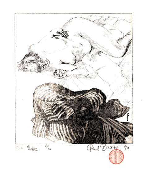 "Paul Binnie ""The Robe"" 1990 thumbnail"