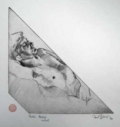 "Paul Binnie ""Robin Asleep"" 1986 thumbnail"