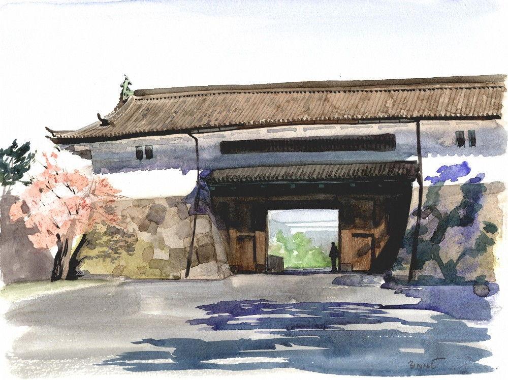 "Paul Binnie ""Sakuradamon Gate"" main image"