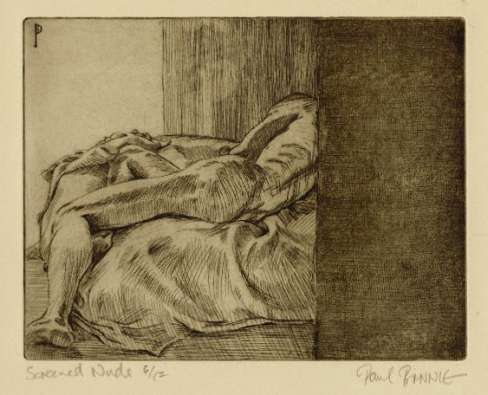 "Paul Binnie ""Screened Nude I"" 1990 thumbnail"