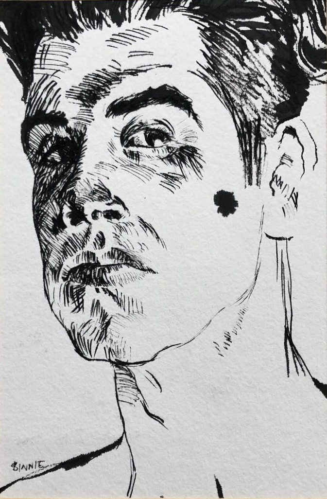 "Paul Binnie ""Self Portrait"" main image"