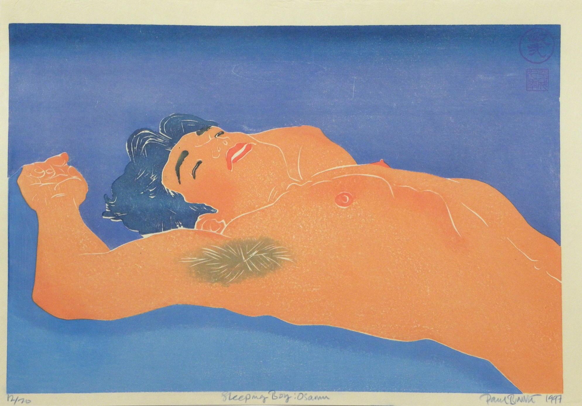 "Paul Binnie ""Sleeping Boy - Osamu"" main image"