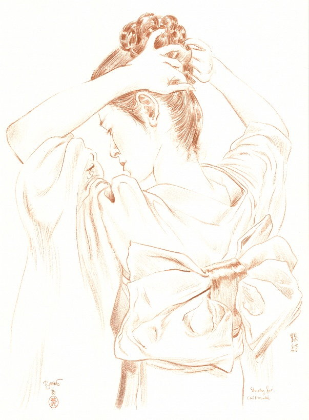 """Paul Binnie """"Study for Butterfly Bow"""" main image"""