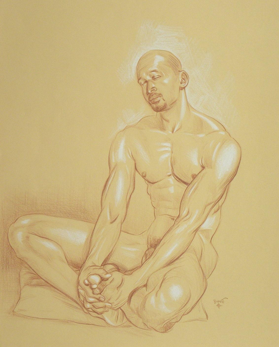 "Paul Binnie ""Reggie [Study for Nap I]"" main image"