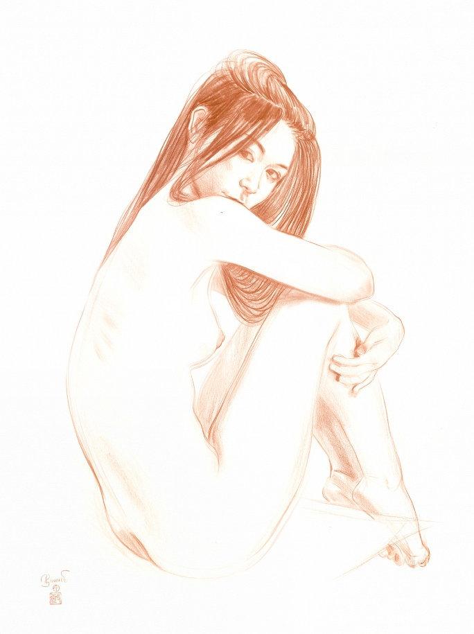 """Paul Binnie """"Study for Utamaro's Erotica"""" main image"""