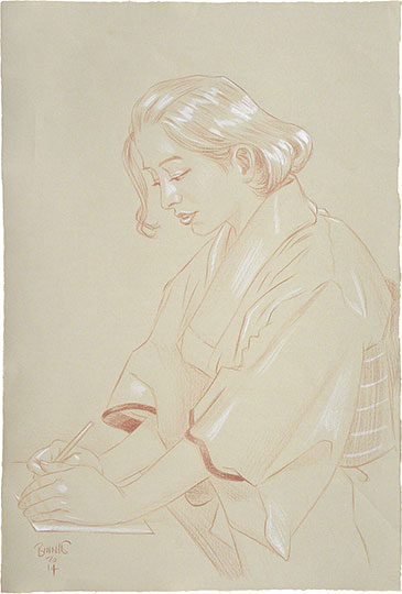 "Paul Binnie ""Study for Votes for Women I"" main image"