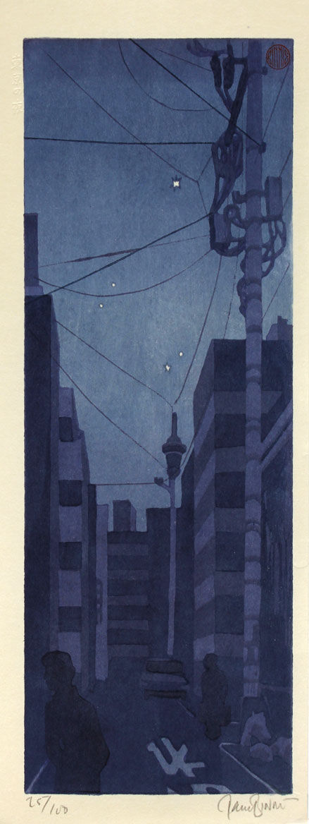 "Paul Binnie ""Tokyo Night"" artwork"