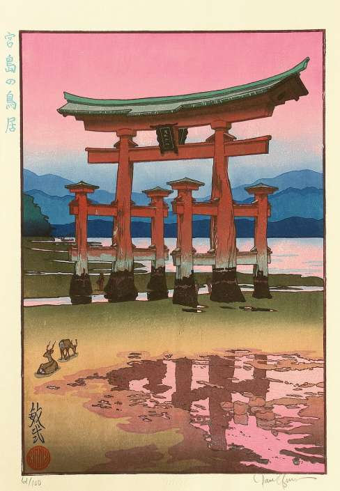 "Paul Binnie ""The Torii Gate at Miyajima"" 2003 thumbnail"