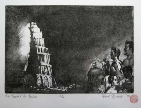 "Paul Binnie ""The Tower of Babel I"" 1990 thumbnail"