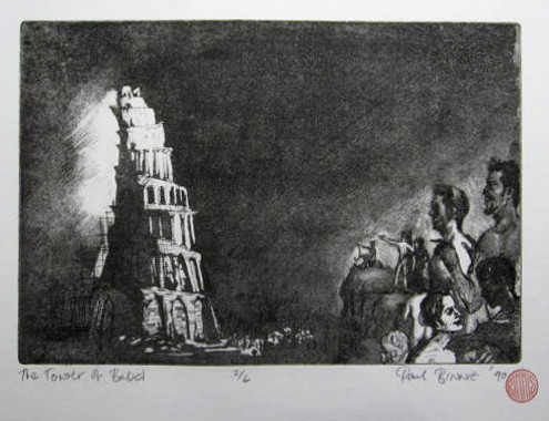 "Paul Binnie ""The Tower of Babel I"" main image"